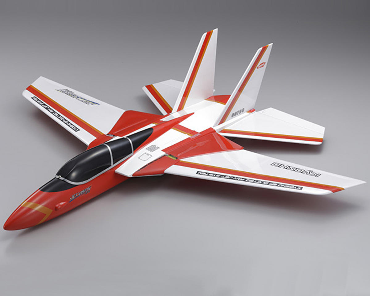 Kyosho EP Jet Vision DF45 Ducted Fan Airplane (Red)