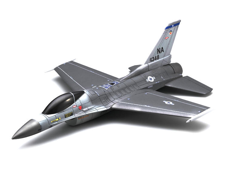 Kyosho EP F-16 Fighting Falcon DF55 Ducted Fan Airplane