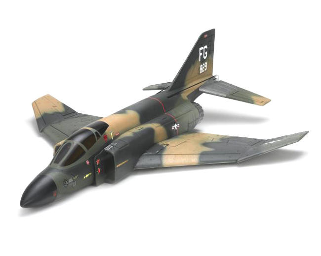 Kyosho EP Jet F-4 Phantom DF55 Ducted Fan Airplane
