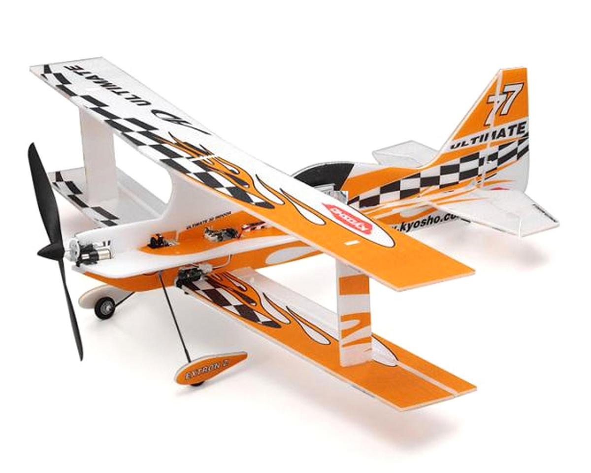 Kyosho Minium AD Profile Ultimate Biplane Micro Foamie Kit