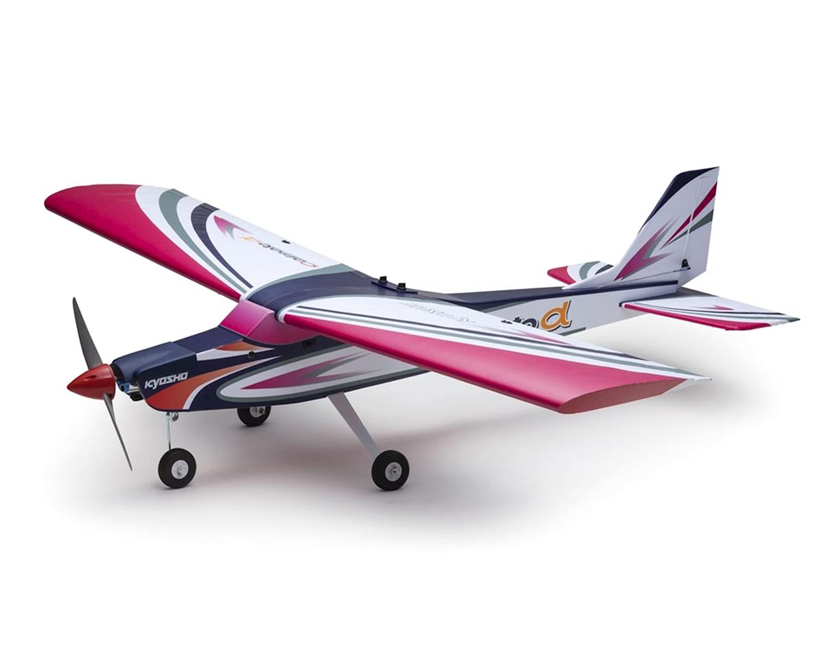 Kyosho Calmato Alpha 40 Trainer EP/GP Toughlon ARF Airplane (Purple)
