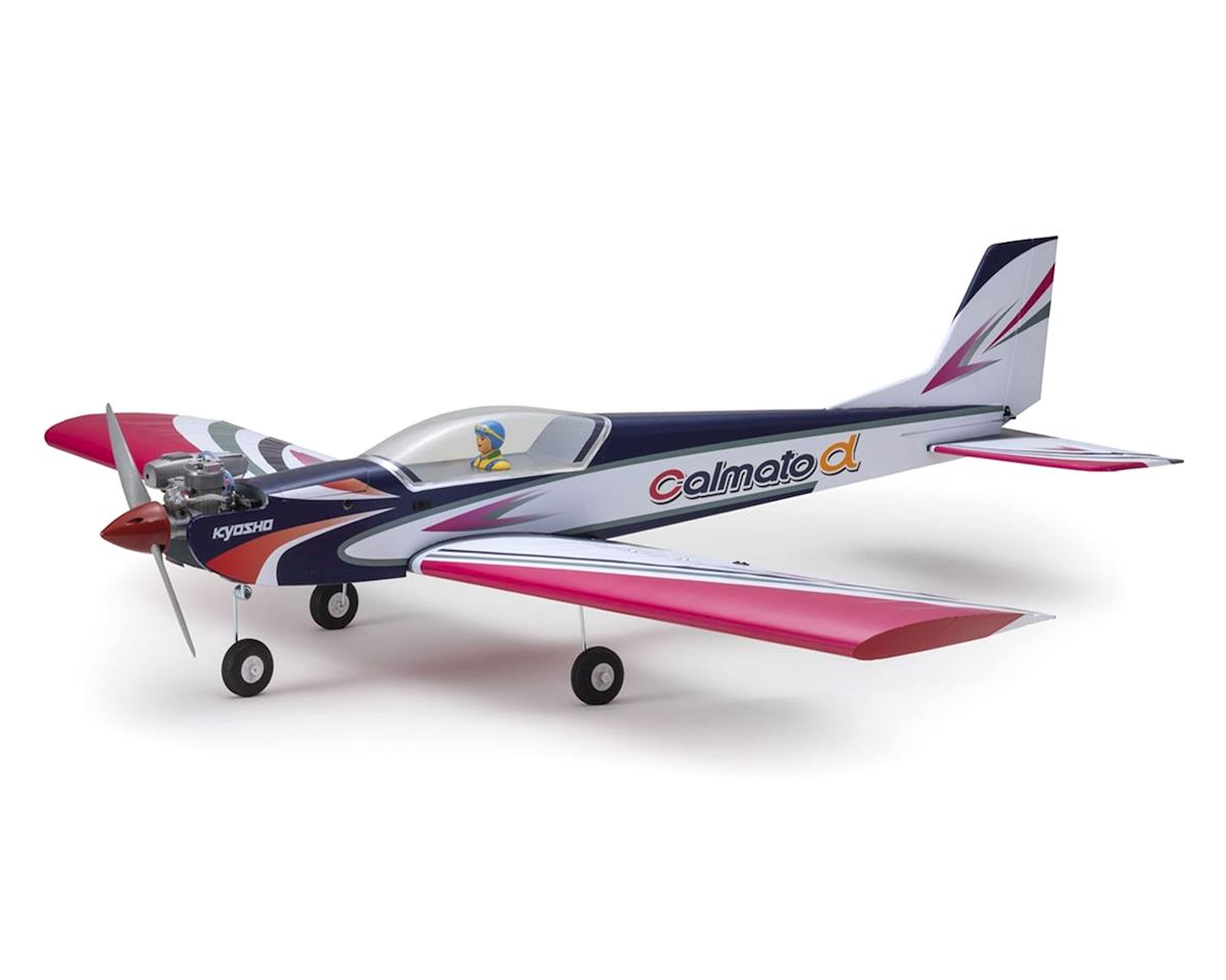 Kyosho Calmato Alpha 40 Sports EP/GP Toughlon ARF Airplane (Purple)