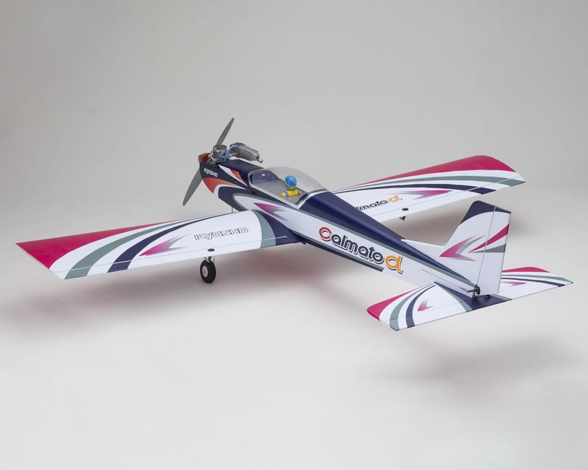 Kyosho Calmato Alpha 40 Sports EP/GP Toughlon ARF Airplane (Purple)