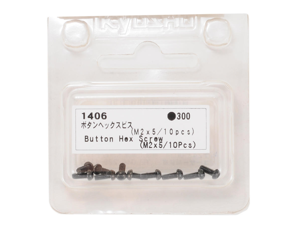 Kyosho 2x5mm Button Head Hex Screw (10)
