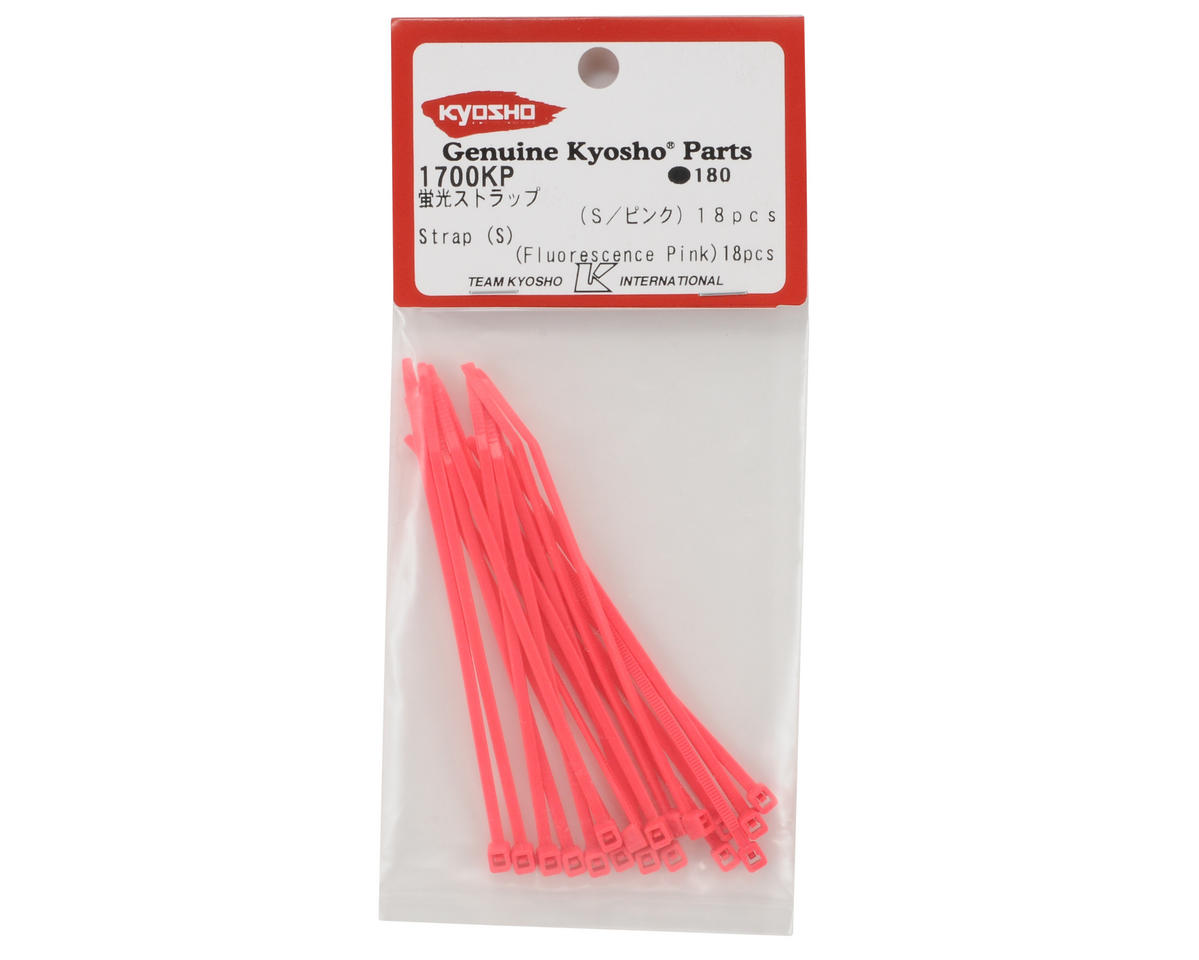 Kyosho Short Flourescent Strap (Pink) (18)