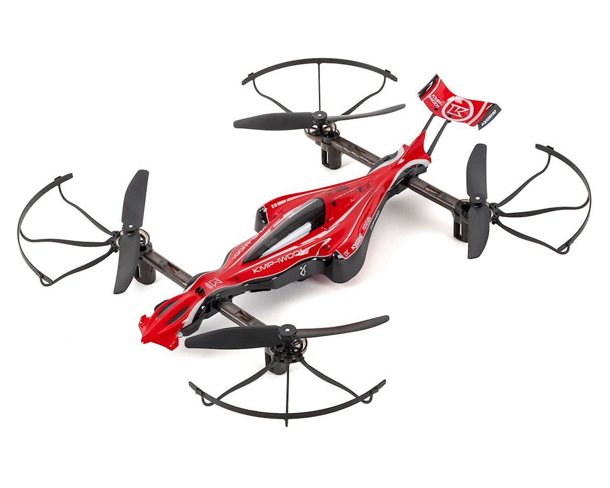 Kyosho G-ZERO Quadcopter Drone Racer Readyset (Red)