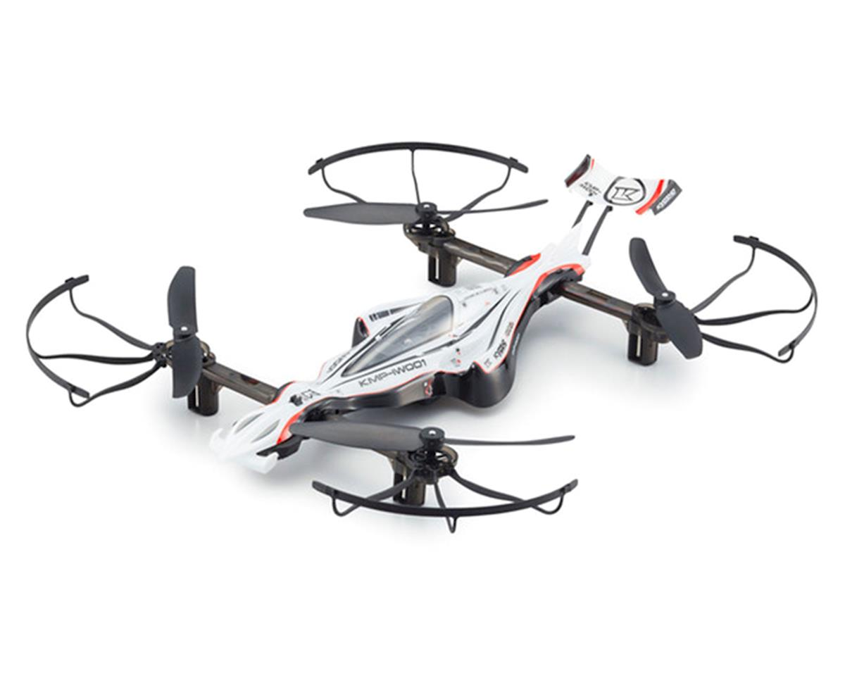 G-ZERO Quadcopter Drone Racer Readyset (White) by Kyosho