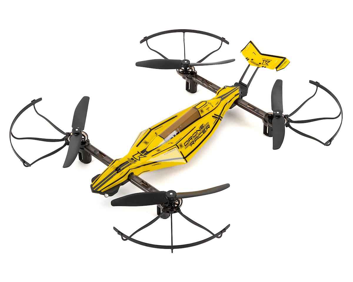 ZEPHYR Quadcopter Drone Racer Readyset (Yellow) by Kyosho