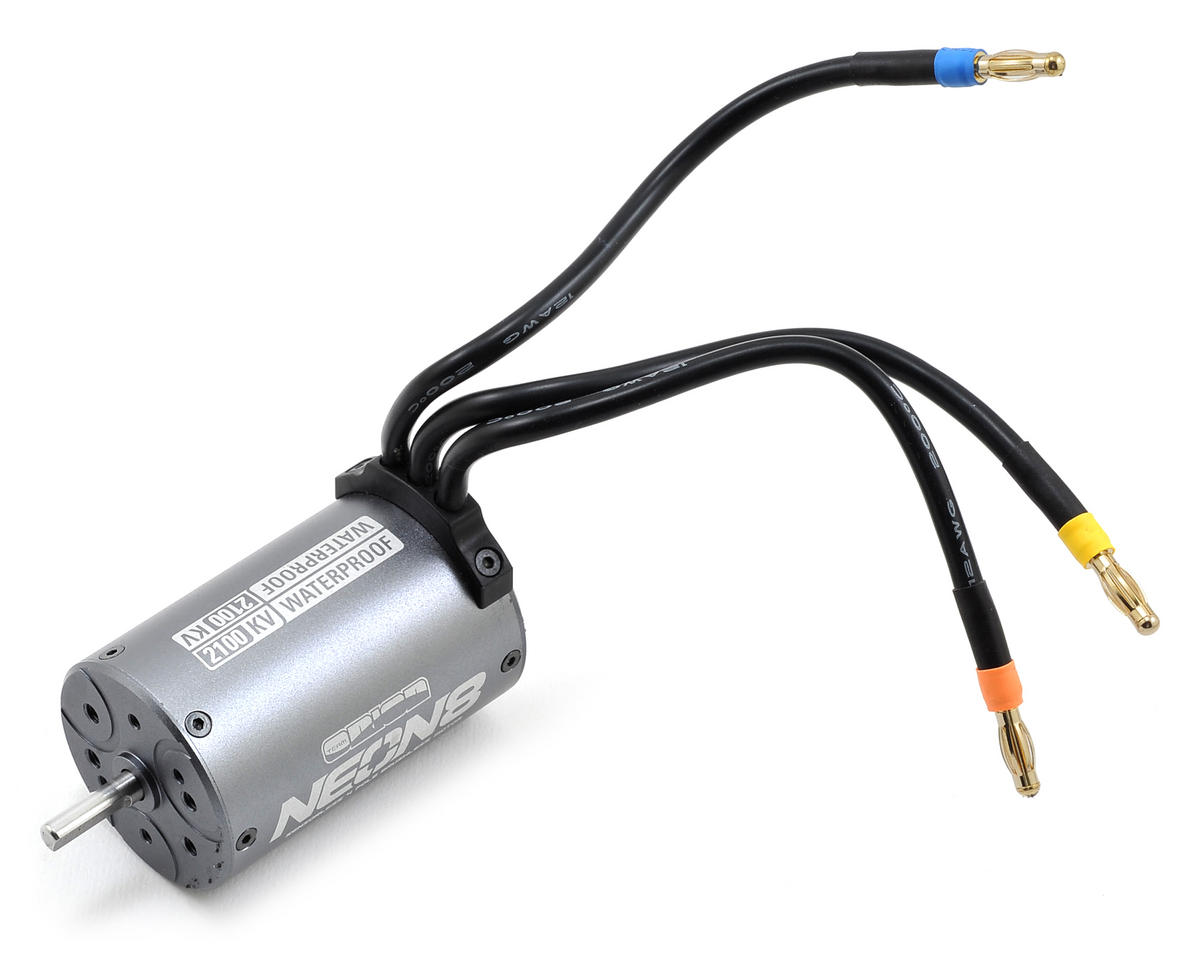 Kyosho Inferno MP9e Neon 8 4-Pole Waterproof Sensorless Brushless Motor (2100kV)