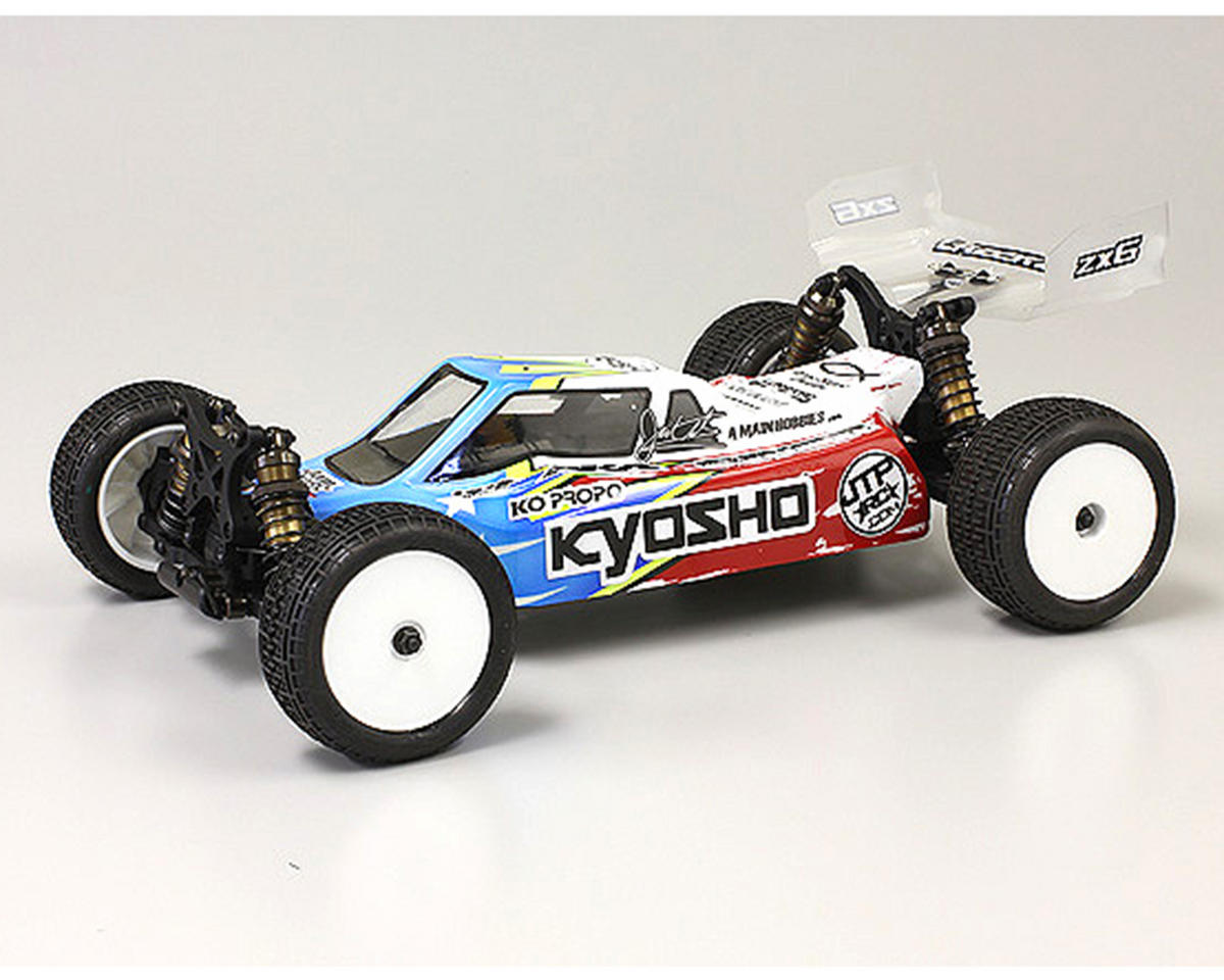 kyosho lazer zx 6 1 10 4wd racing buggy kit kyo30046b cars amp trucks   amain performance hobbies