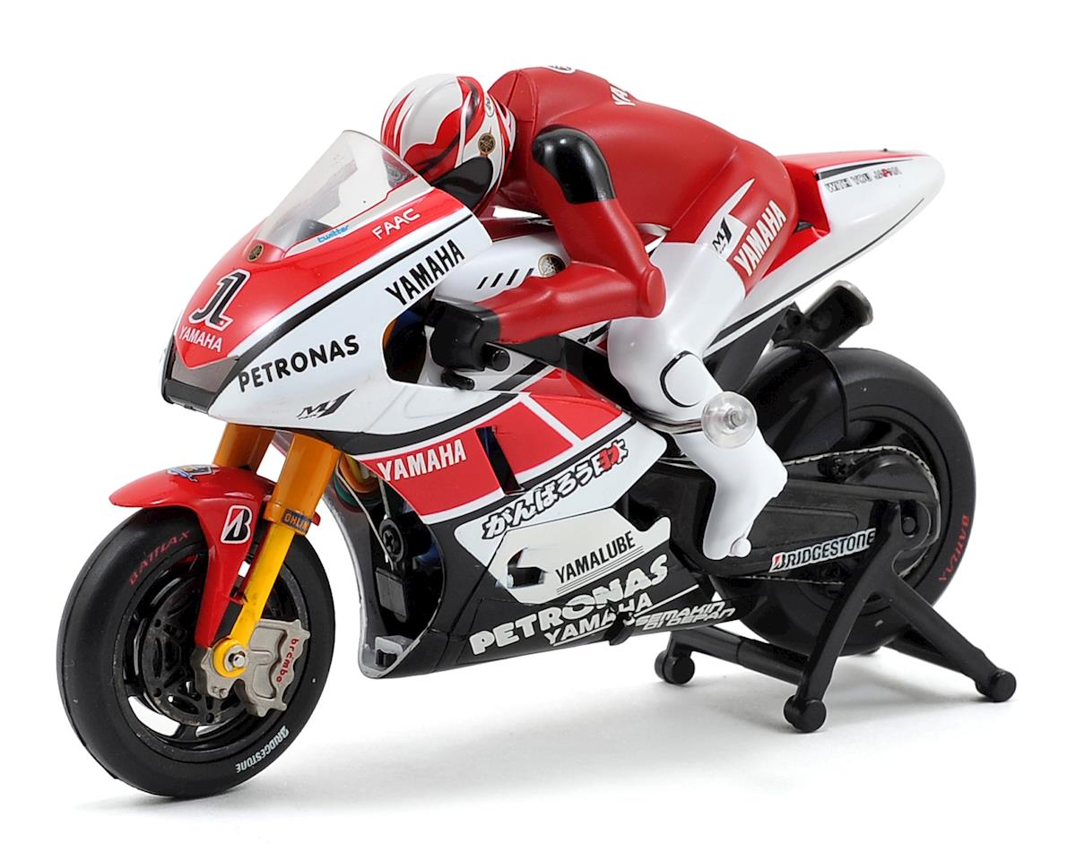 Kyosho Mini-Z Moto Racer Yamaha YZR-M1 ReadySet Motorcycle (Red)