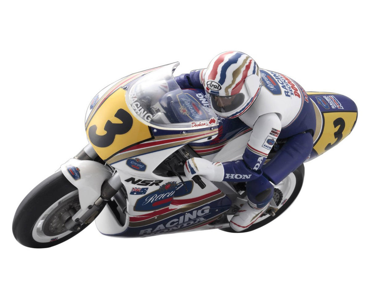 Honda NSR500 Electric 1/8 Motorcycle Kit by Kyosho