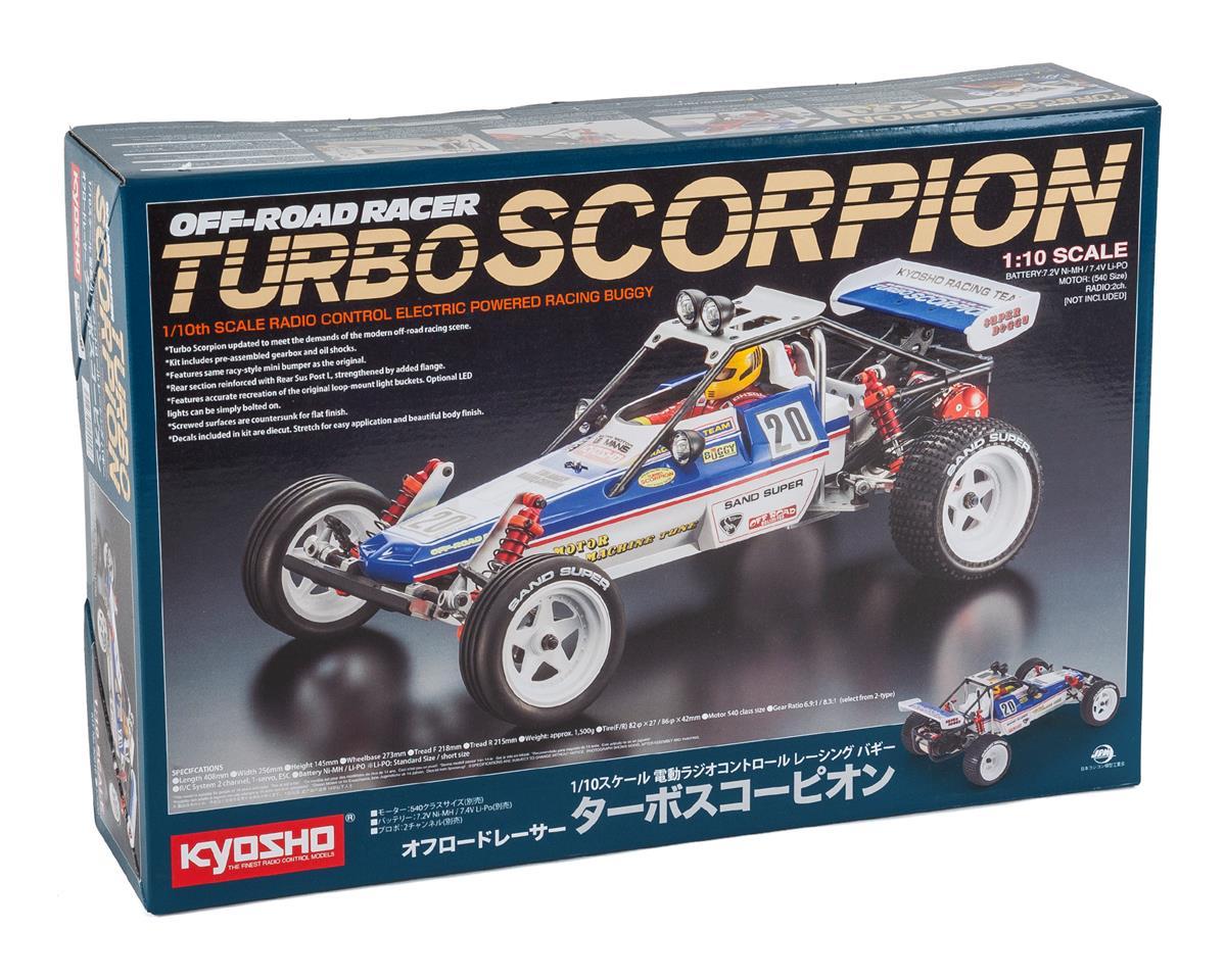 Kyosho Turbo Scorpion 1/10 2WD Electric Buggy Kit
