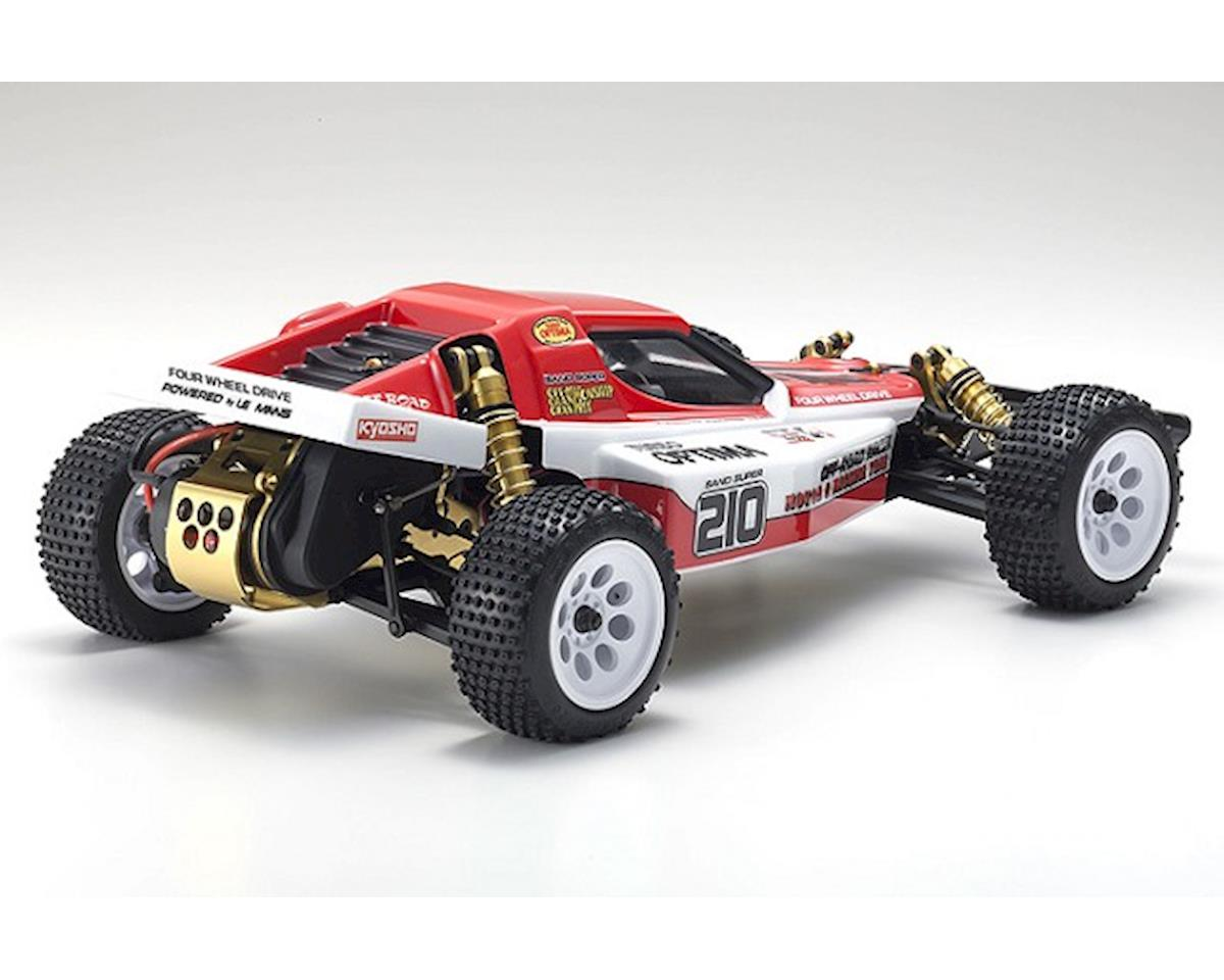 Kyosho Turbo Optima Gold 4WD Off-Road Buggy Racer Kit