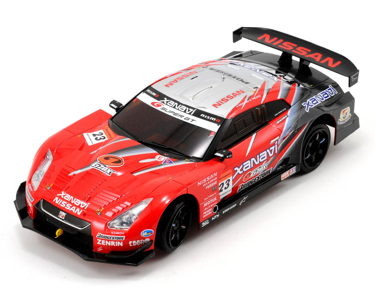 Kyosho MR-02 EX XANAVI NISMO GT-R 2008 Mini-Z ReadySet w/KT-18 2.4GHz Transmitter