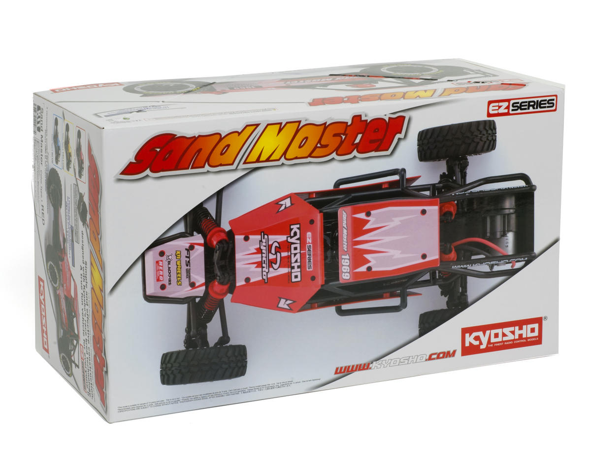 Kyosho Sand Master ReadySet Type 1 1/10 2wd Buggy w/KT-200 2.4GHz Radio System (