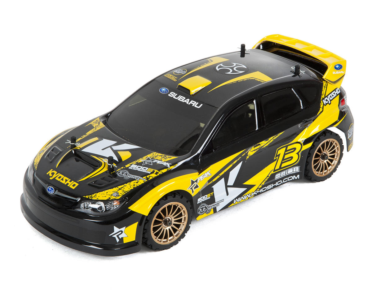 Kyosho Fazer VE-X 2007 Subaru Impreza 1/10 Electric Rally Car