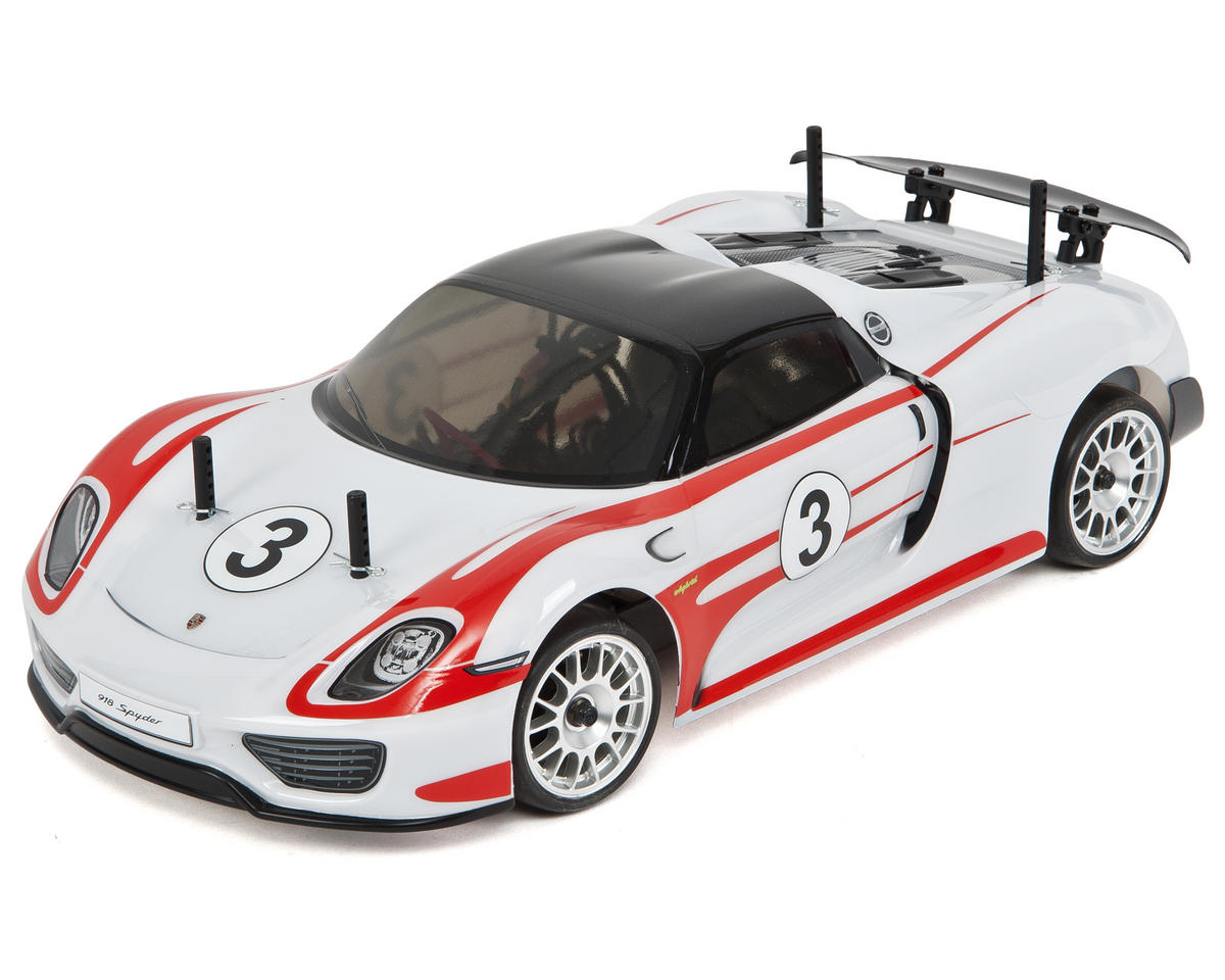 "Kyosho Fazer VE Porsche 918 Spyder ""Weissach"" ReadySet 1/10 Electric Touring Car"