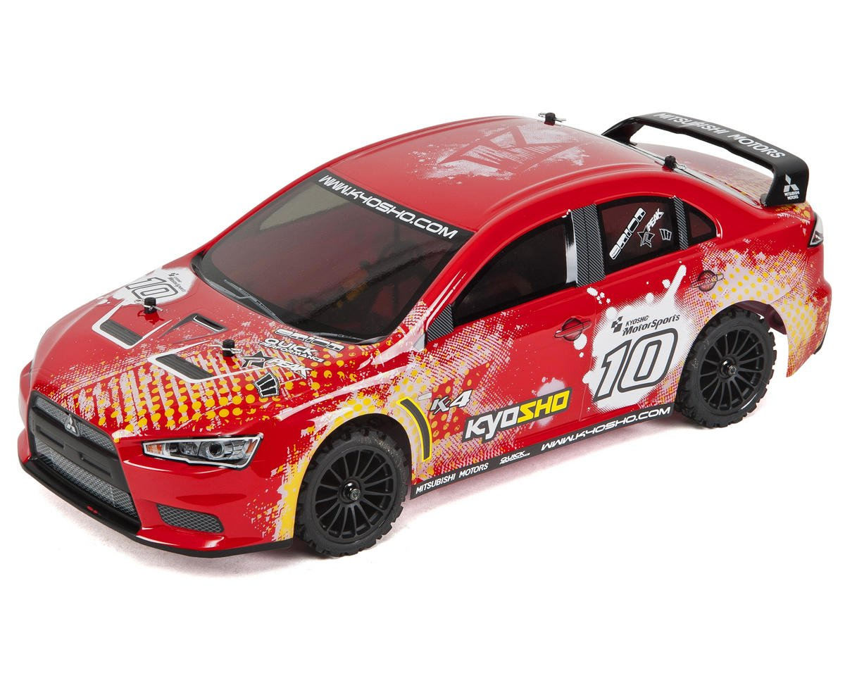 Kyosho EP Fazer VE Lancer ReadySet 1/10 Electric Touring Car