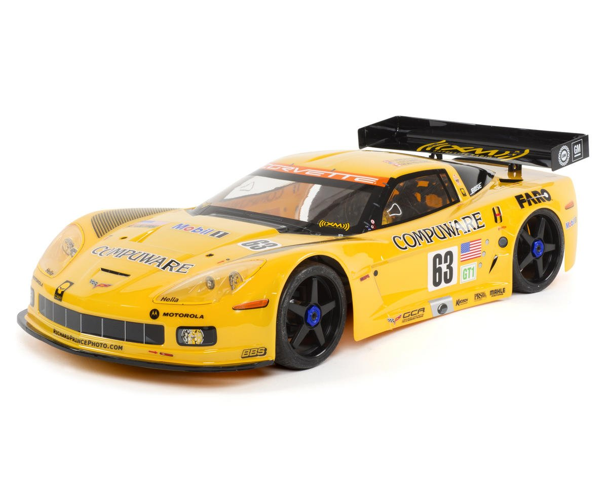 Kyosho Inferno GT2 VE Race Spec Corvette C6-R ReadySet Electric On-Road Kit