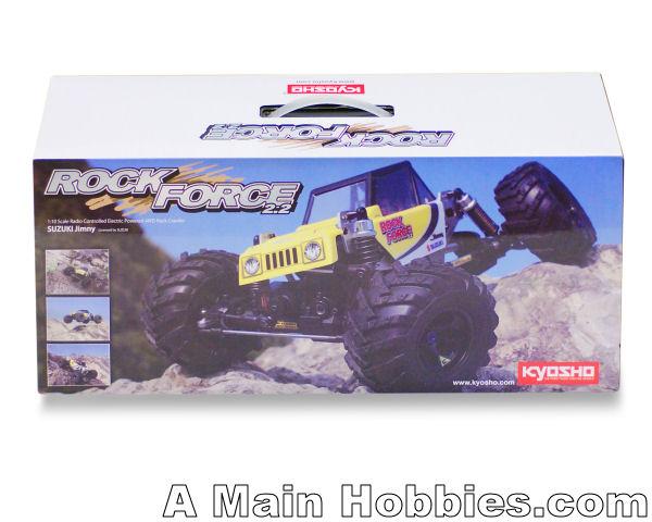 Kyosho Rock Force 2.2 Suzuki Jimny 1/10 Electric Powered Rock Crawler