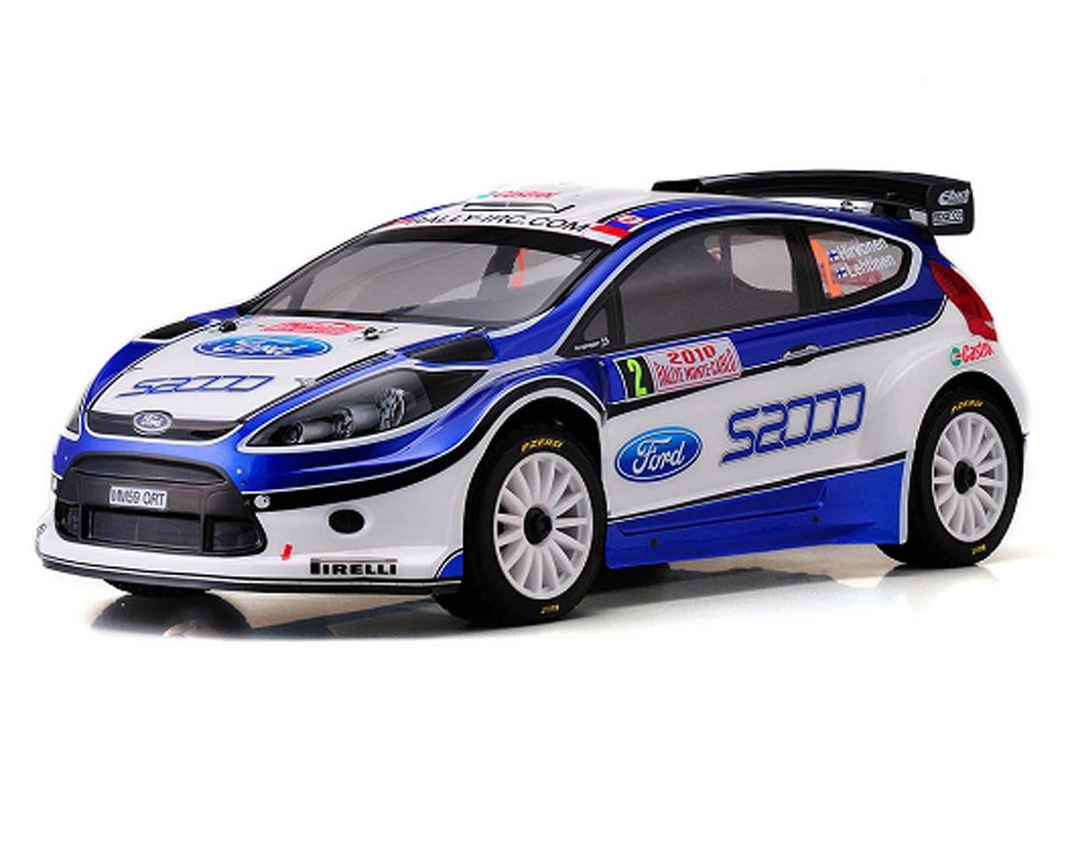Kyosho DRX 4WD 1/9th Ford Fiesta WRC 08 Nitro Rally Car w/KT-200 2.4GHz Radio Sy
