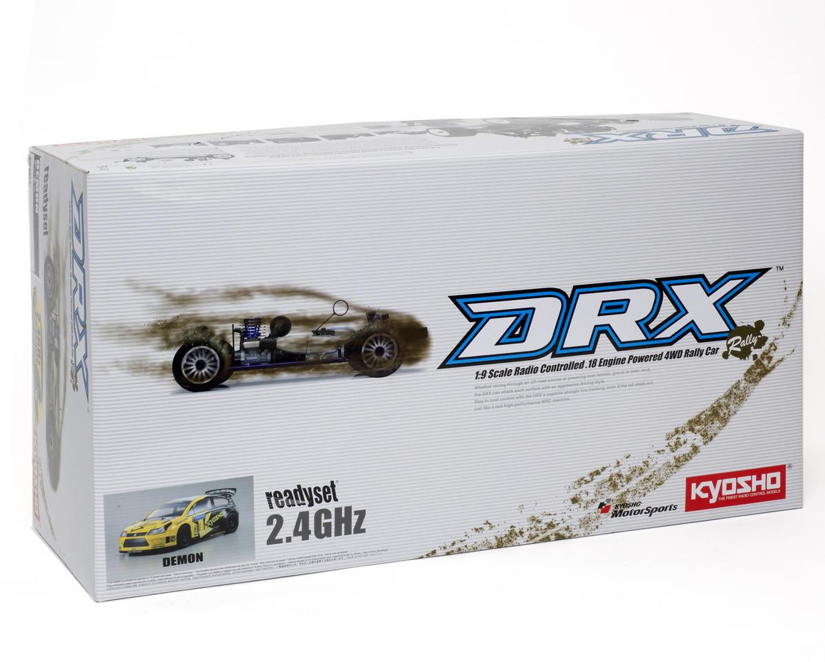 Kyosho DRX Demon 1/9 ReadySet Nitro Rally Car w/KT-200 2.4GHz Transmitter