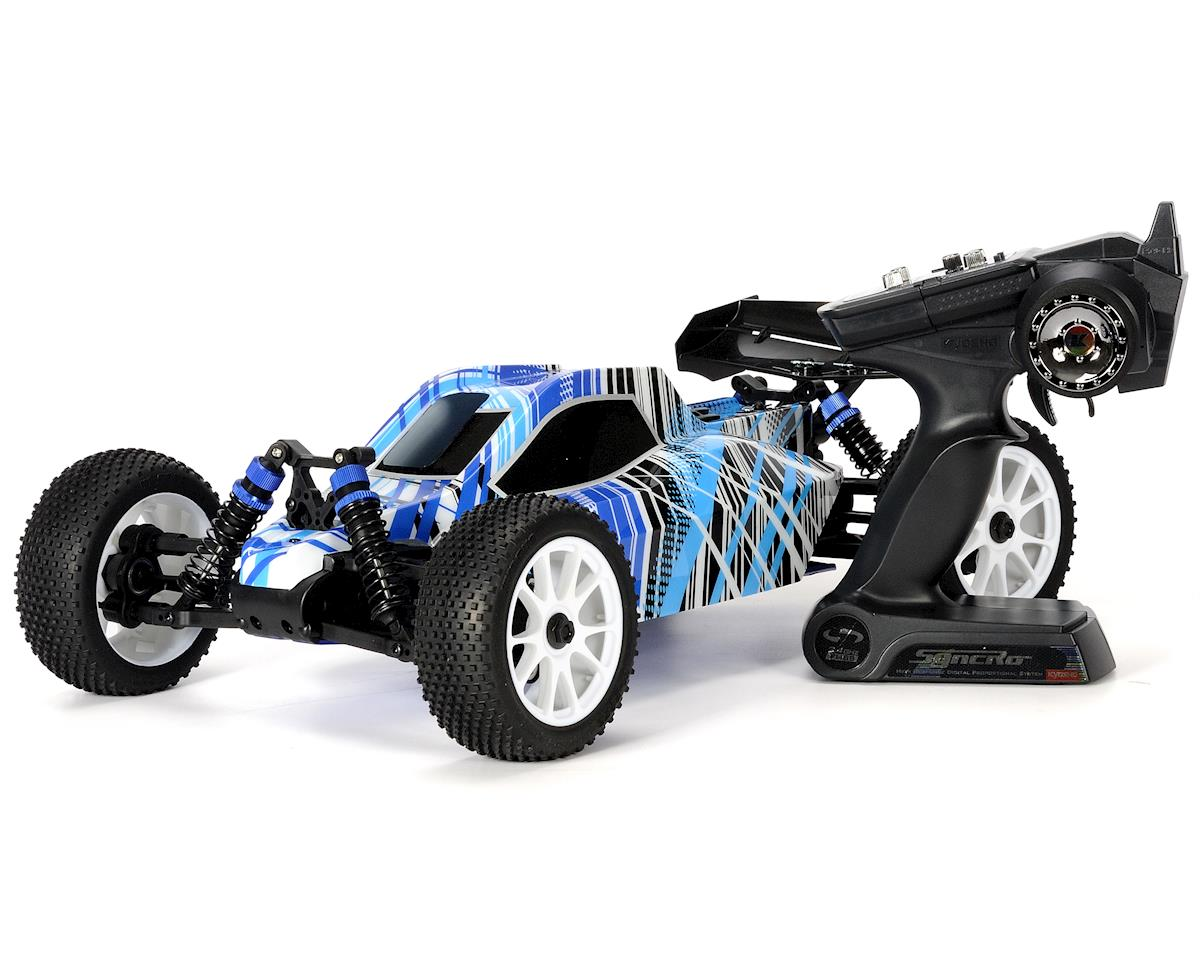 DBX 2.0 ReadySet 1/10th 4WD Nitro Off Road Buggy