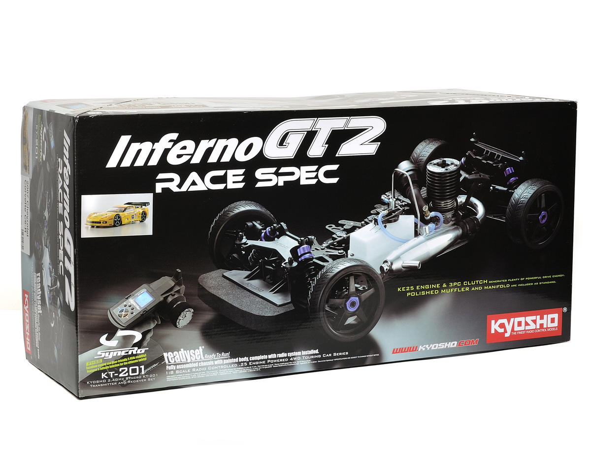 Kyosho Inferno GT2 Race Spec Corvette C6-R ReadySet 1/8 Scale Nitro On-Road Kit