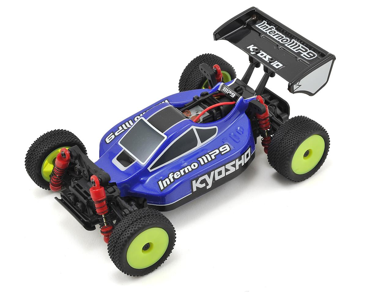MB-010S Mini-Z Buggy Inferno MP9 TKI3 Readyset (Blue/White) by Kyosho