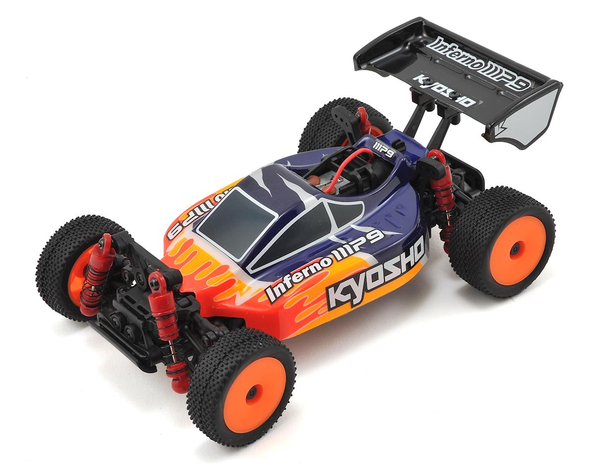 Kyosho MB-010S Mini-Z Buggy Inferno MP9 TKI3 Readyset (Blue/Red)