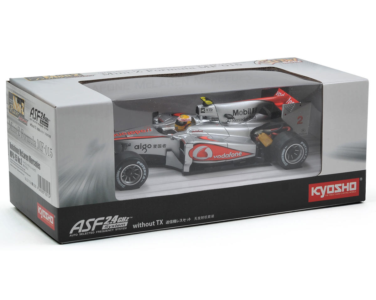 Kyosho MF-015 Mini-Z Chassis Set w/McLaren Mercedes MP4-25 No.1 Body