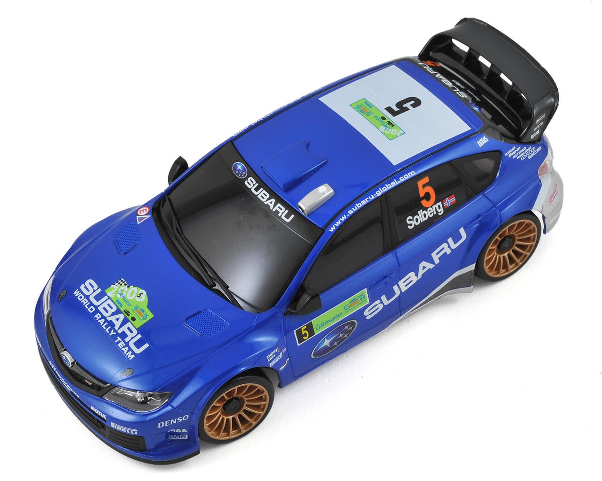 Kyosho MA-020S AWD Mini-Z Sports ReadySet w/Subaru 2008 WRC Impreza Body