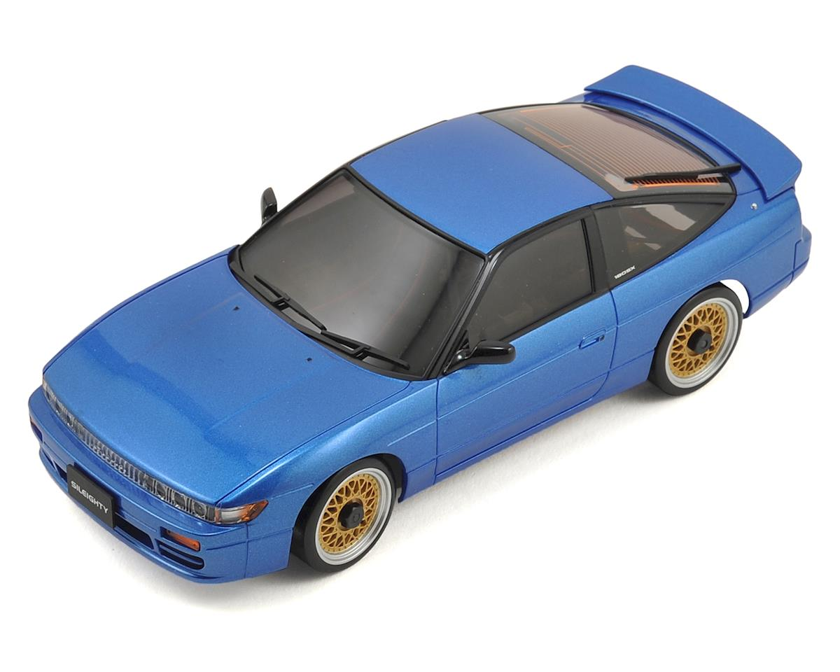 MA-020S AWD Mini-Z Sports ReadySet w/Nissan Sileighty Body (Blue) by Kyosho