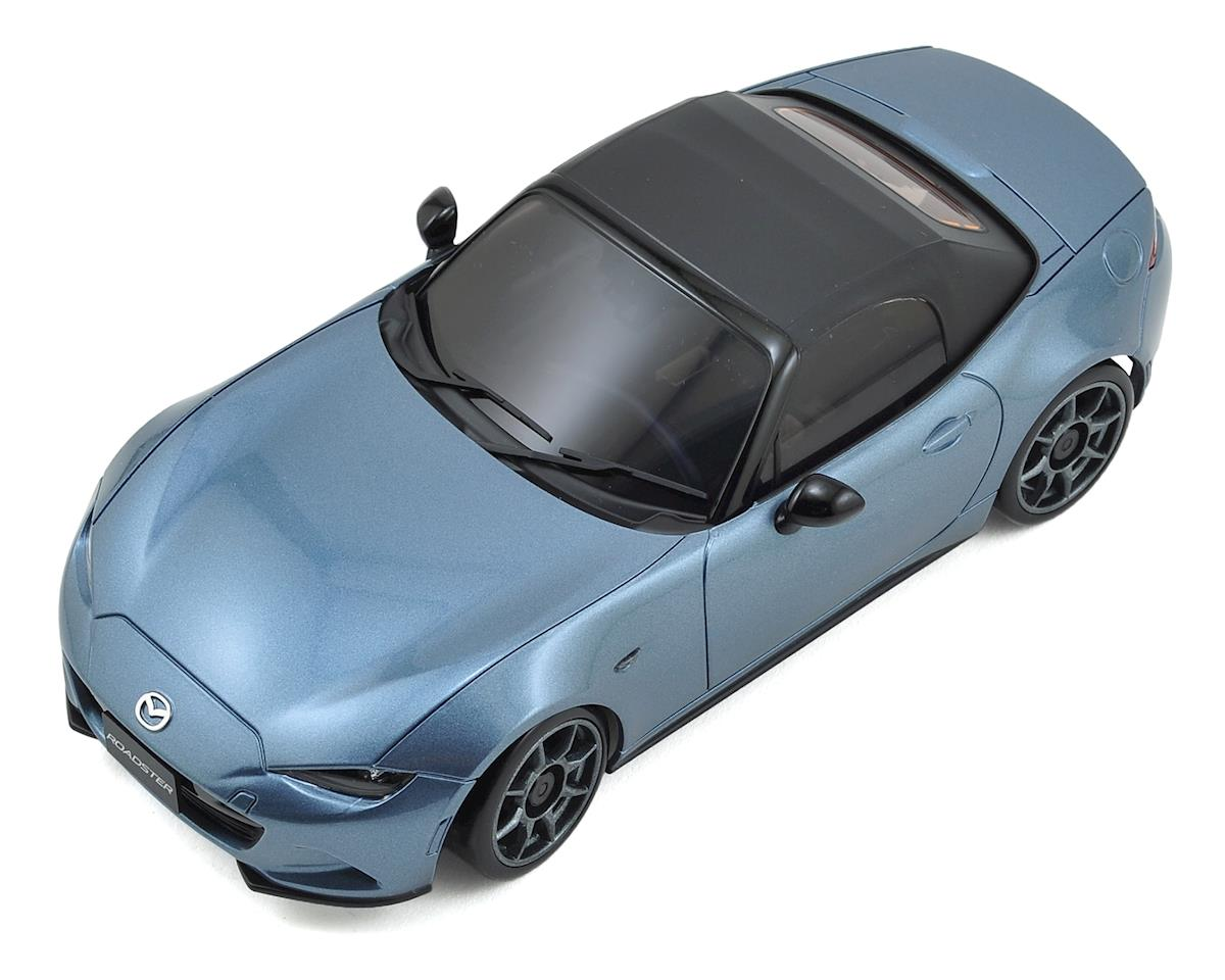 MA-020S AWD Mini-Z Sports ReadySet w/Mazda Roadster Body (Blue) by Kyosho