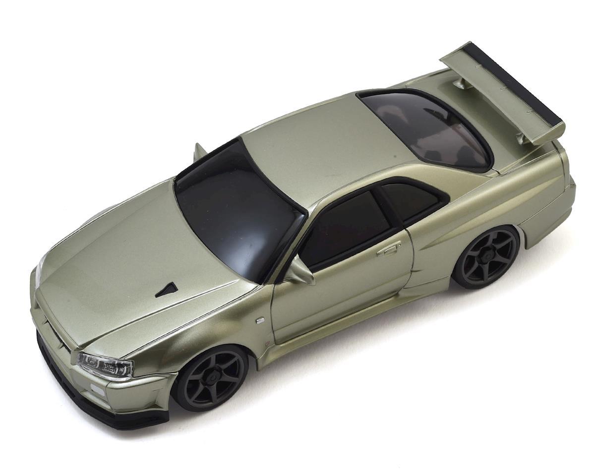 Kyosho MA-020S AWD Mini-Z Sports ReadySet w/Nissan Skyline GT-R V Spec II Body