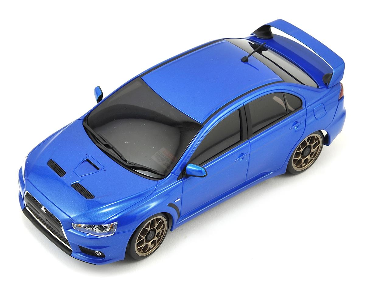 Kyosho MA-020S AWD Mini-Z Sports ReadySet w/Mitsubishi Lancer Evolution X Body
