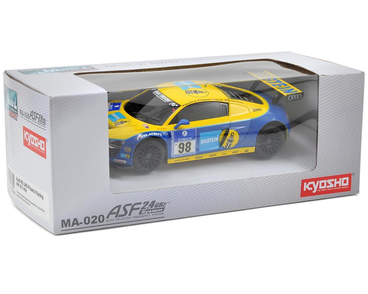 Kyosho MA-020 AWD Mini-Z Chassis Set w/Phoenix Racing Audi R8 LMS NBR 2010 #98