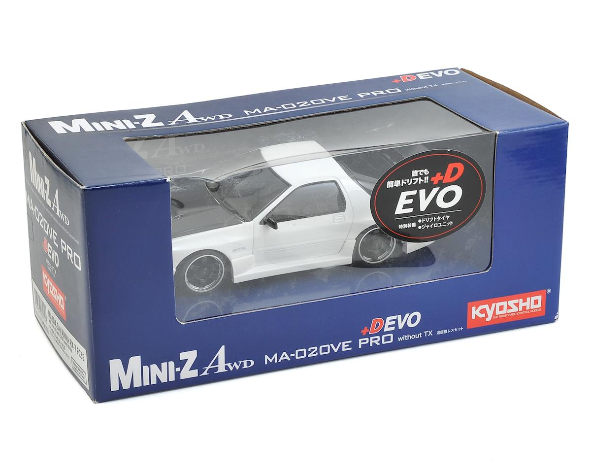 Kyosho MA-020VE PRO AWD Mini-Z Chassis Set w/Savanna RX-7 Evo