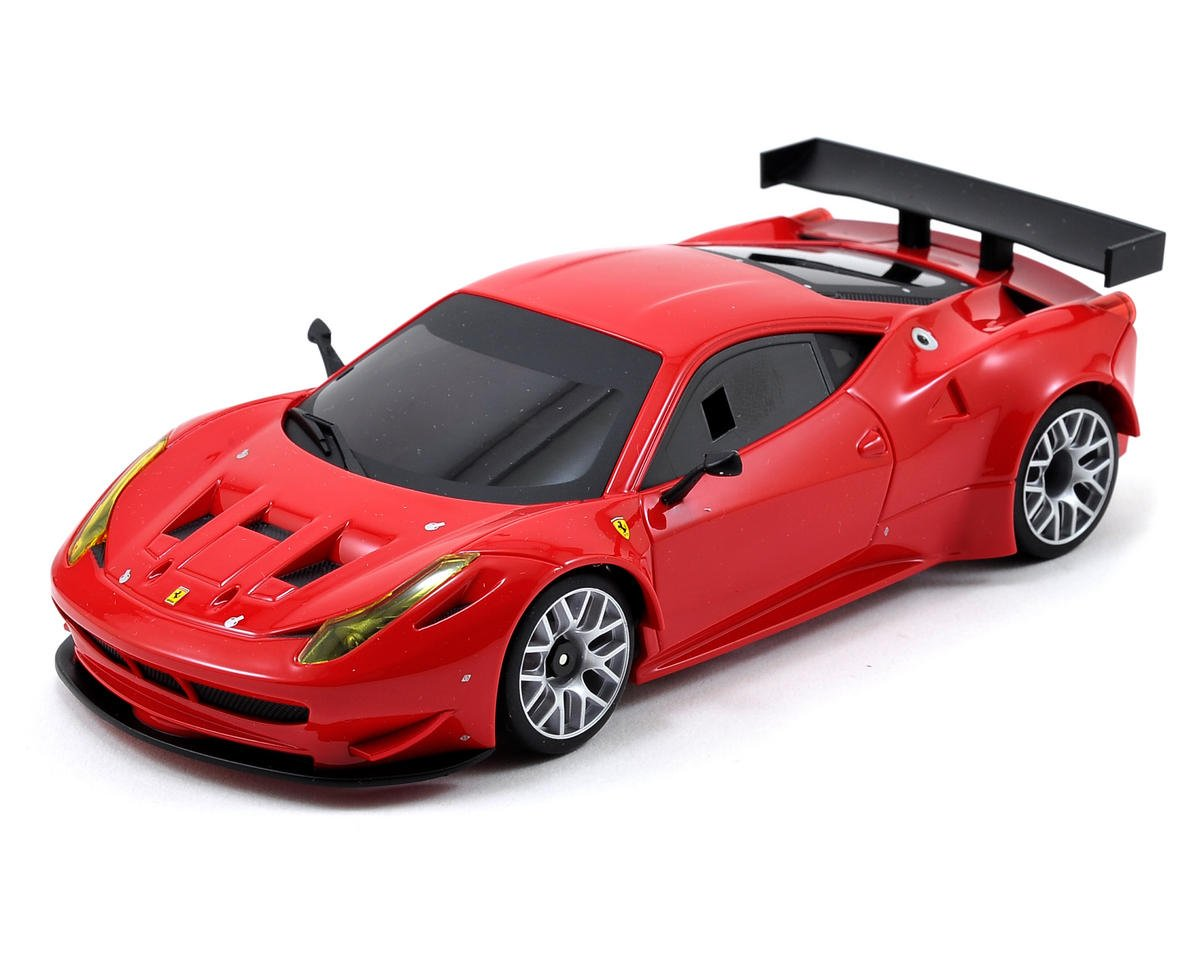 Kyosho MR-03S Mini-Z Racer Sports ReadySet w/Ferrari 458 Italia GT2 Body
