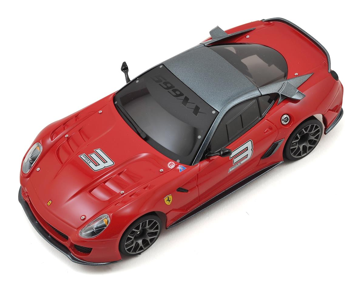 Kyosho MR-03S2 Mini-Z Racer Sports ReadySet w/Ferrari 599XX Body