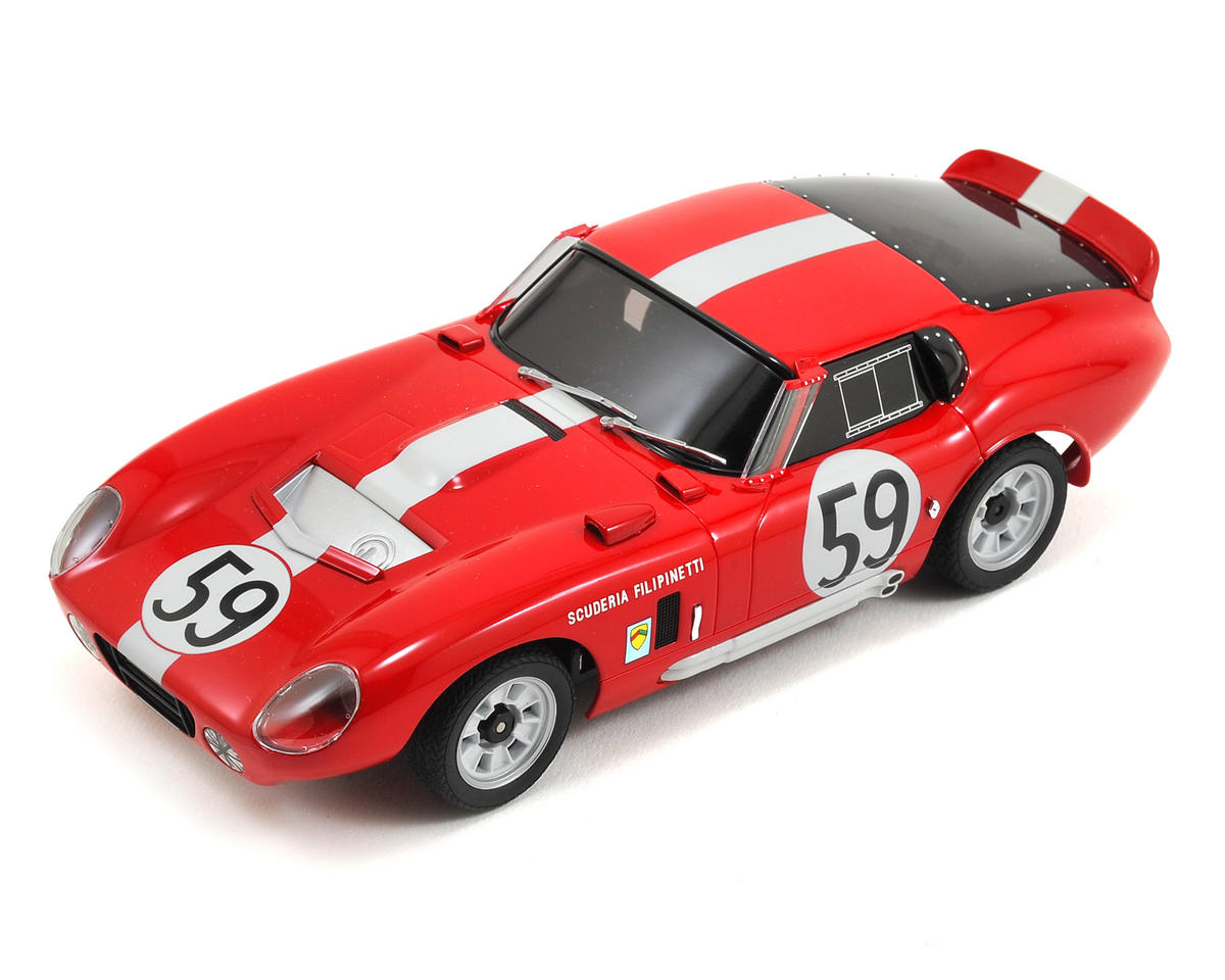 Kyosho MR-03S Mini-Z Racer Sports ReadySet w/Shelby Cobra Daytona Coupe Body