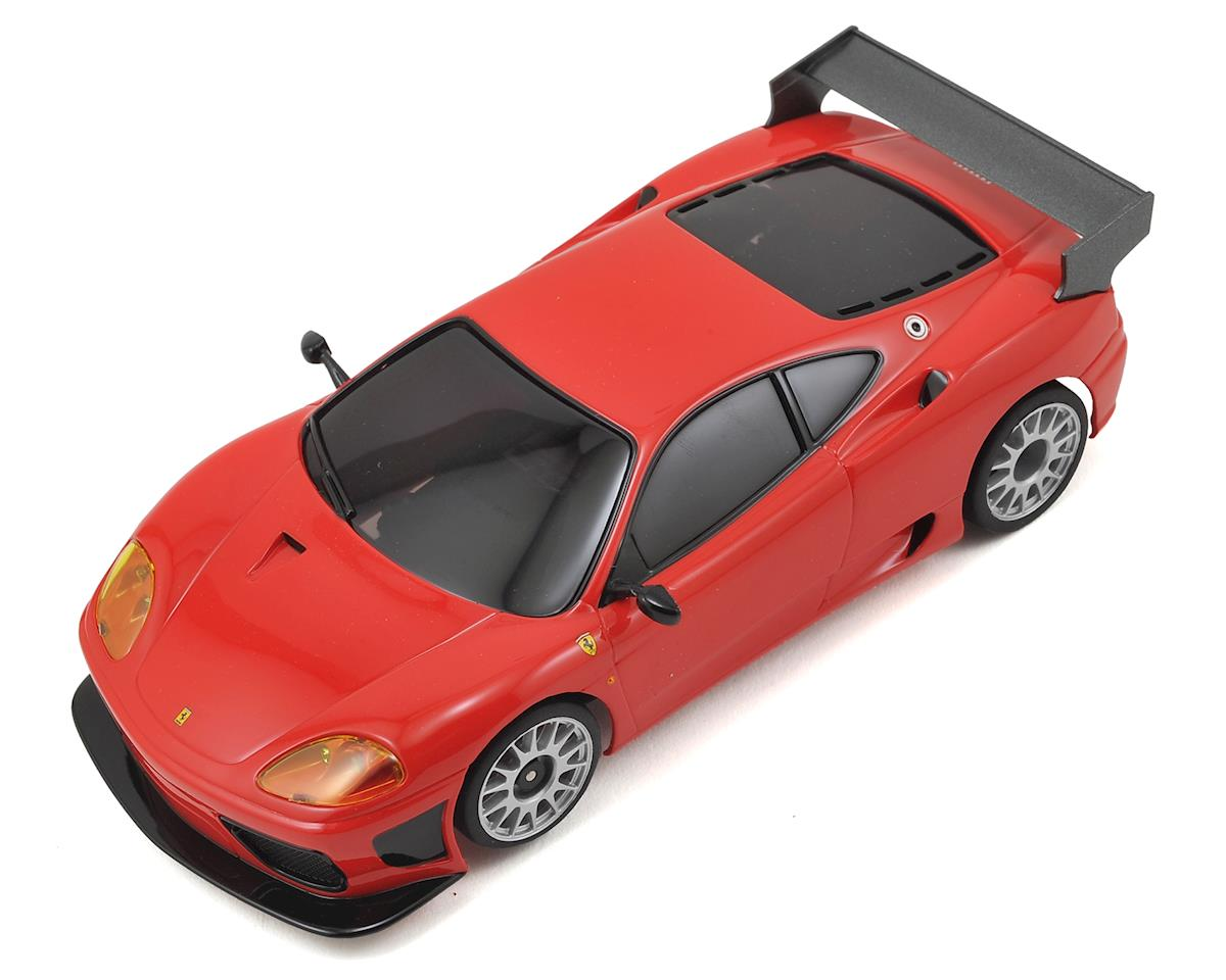 MR-03S2 Mini-Z Racer Sports ReadySet w/Ferrari 360GTC Body (Red) by Kyosho
