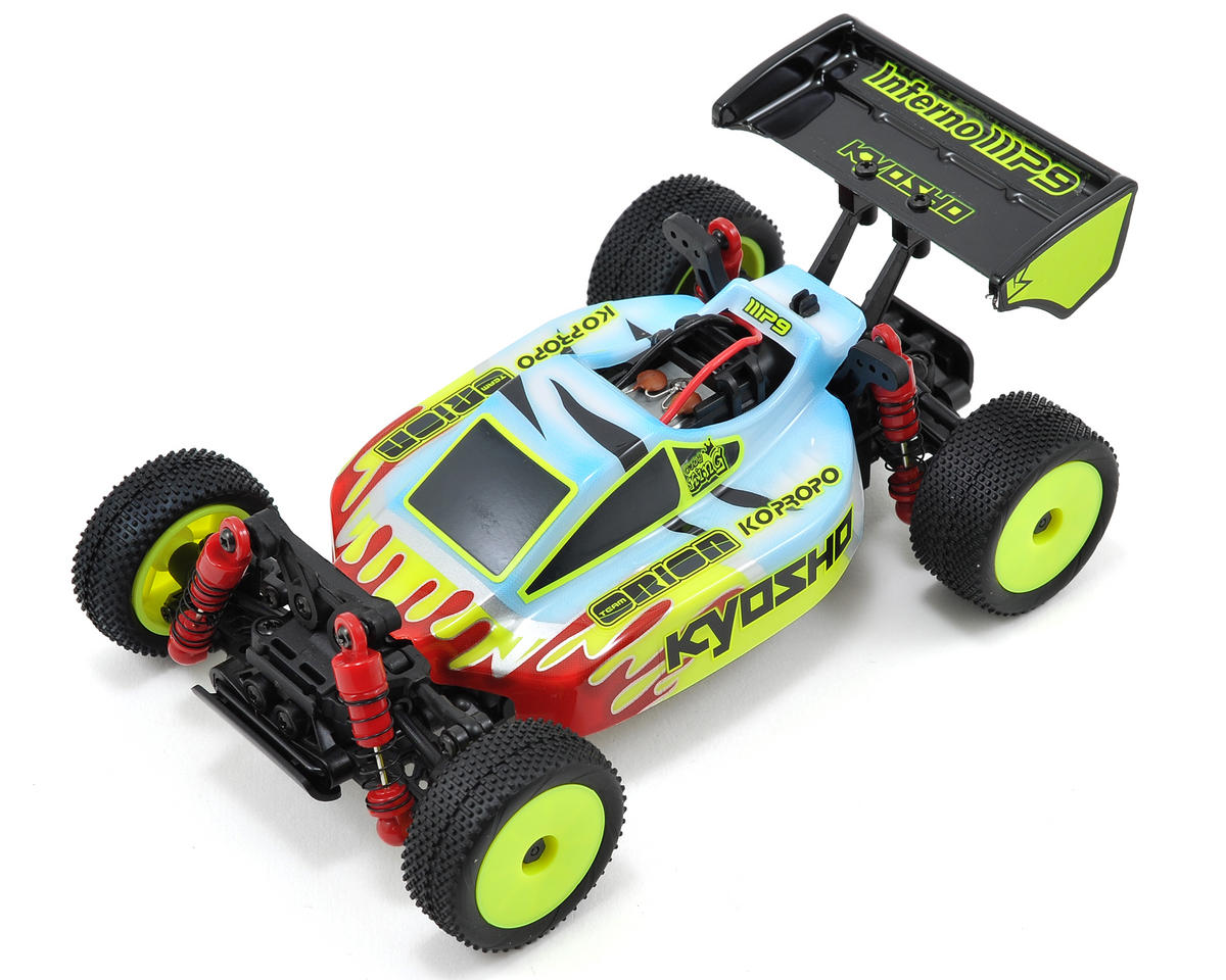 Kyosho MB-010 Mini-Z Inferno Readyset Chassis w/Cody King Body & ASF 2.4GHz Radio System