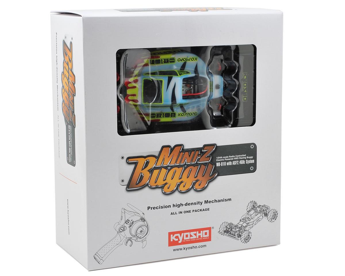 Kyosho MB-010 Mini-Z Inferno Readyset Chassis w/Cody King Body & ASF 2.4GHz Radio System