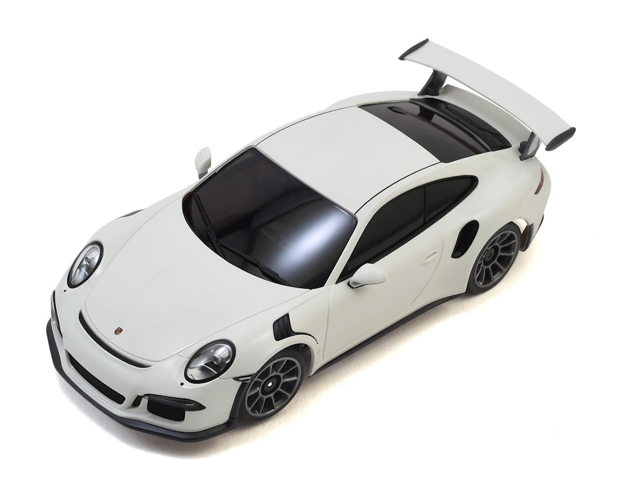 Kyosho MR-03S2 Mini-Z Racer Sports 2 ReadySet w/Porsche 911 GT3 Body (White)