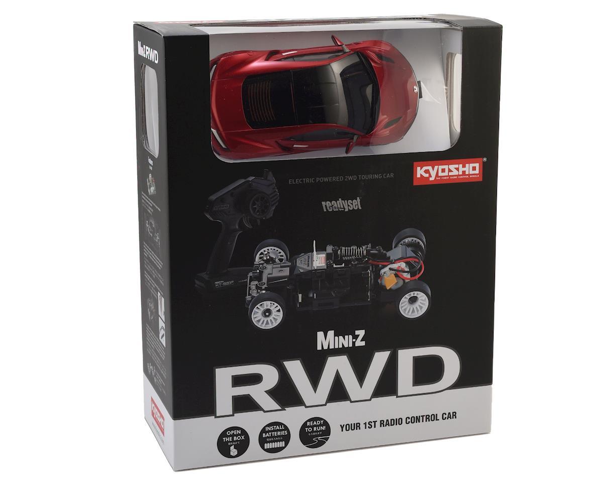 Kyosho MR-03 RWD Mini-Z ReadySet w/NSX Valencia Body (Red)