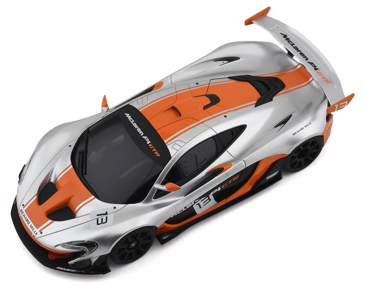 Kyosho MR-03 RS Mini-Z RWD ReadySet w/McLaren P1 GTR Body (Silver/Orange) w/KT-531P 2.4GHz Transmitter