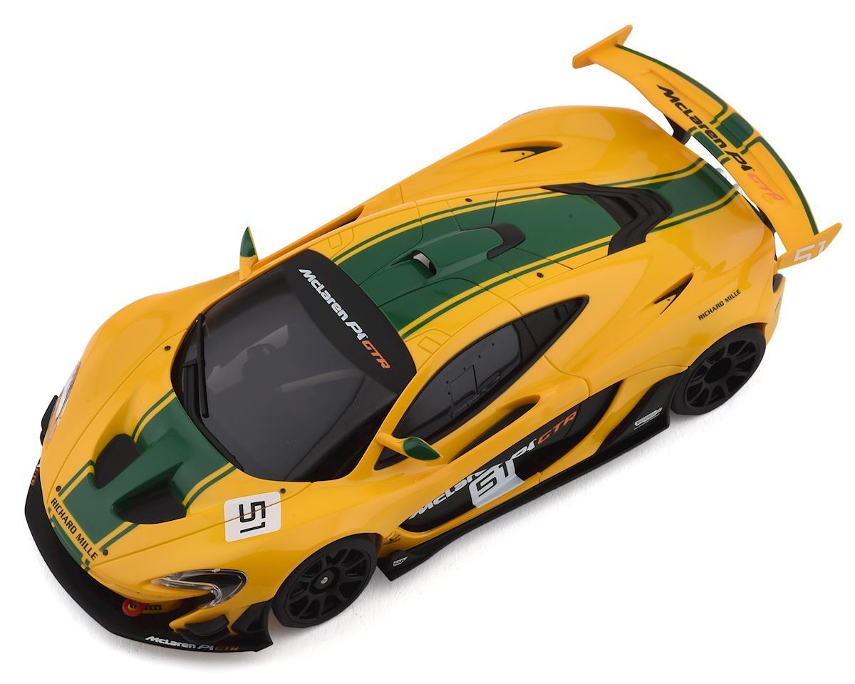MR-03 RS Mini-Z RWD ReadySet w/McLaren P1 GTR Body (Yellow/Green)