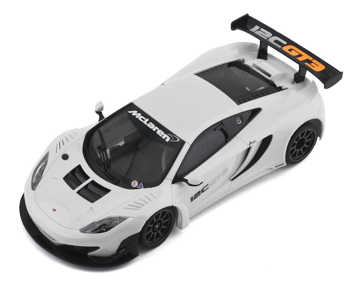Kyosho MR-03 Mini-Z RWD ReadySet w/McLaren 12C GT3 2013 (White)